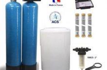 Test et avis : Adoucisseur d'eau duplex 2x150L fleck 9100